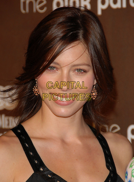 JESSICA BIEL.Attends The 3rd Annual Pink Party Benefiting Cedars-Sinai Women's Cancer Research Institute held at The Viceroy Hotel in Santa Monica, California, USA, September 08 2007.       .portrait headshot           .CAP/DVS.©Debbie VanStory/Capital Pictures