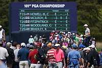 Cameron Smith (AUS) on the 11th green during the 3rd round at the PGA Championship 2019, Beth Page Black, New York, USA. 18/05/2019.<br /> Picture Fran Caffrey / Golffile.ie<br /> <br /> All photo usage must carry mandatory copyright credit (© Golffile | Fran Caffrey)