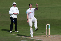 Matt Coles in bowling action for Essex during Nottinghamshire CCC vs Essex CCC, Specsavers County Championship Division 1 Cricket at Trent Bridge on 12th September 2018