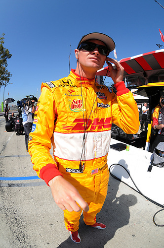 15-17 April, 2011, Long Beach, California USA<br /> Ryan Hunter-Reay<br /> ©2011, Paul Webb<br /> LAT Photo USA