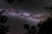Night sky with Milky Way<br />