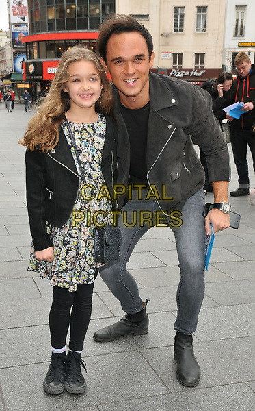 Missy Gates and Gareth Gates at the &quot;Smurfs: The Lost Village&quot; gala film screening, Cineworld Leicester Square, Leicester Square, London, England, UK, on Sunday 19 March 2017.<br /> CAP/CAN<br /> &copy;CAN/Capital Pictures