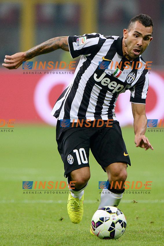 Carlos Tevez Juventus<br /> Milano 20-09-2014 Stadio Giuseppe Meazza - Football Calcio Serie A Milan - Juventus. Foto Giuseppe Celeste / Insidefoto
