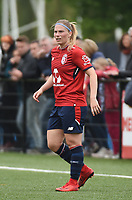 20180519 - LILLE , FRANCE : LOSC's Jana Coryn pictured during the 21 st competition game between the women teams of Lille OSC and Montpellier Herault Sporting Club in the 2017-2018 season of the first Division - Ligue 1 at stade Lille Metropole , Sunday 19th May 2018 ,  PHOTO Dirk Vuylsteke | Sportpix.Be