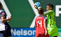 Portland, OR - Saturday September 02, 2017: Adrianna Franch during a regular season National Women's Soccer League (NWSL) match between the Portland Thorns FC and the Washington Spirit at Providence Park.