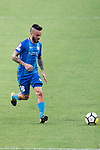 SC Kitchee Midfielder Lum Jared Christopher in action during the week three Premier League match between Hong Kong Pegasus and Kitchee at Hong Kong Stadium on September 17, 2017 in Hong Kong, China. Photo by Marcio Rodrigo Machado / Power Sport Images