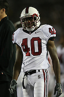 1 October 2006: Kris Evans during Stanford's 31-0 loss to UCLA at the Rose Bowl in Pasadena, CA.