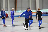 SCHAATSEN: LEEUWARDEN: 21-09-2015, Elfstedenhal, schaatstrainer Siep Hoekstra, ©foto Martin de Jong