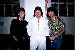 Emerson, Lake &amp; Plamer with Cozy Powell in November 1986.<br />&copy; David Plastik / Retna Ltd.