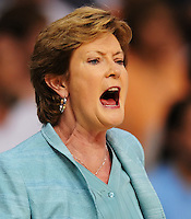 University of Tennessee Women's Basketball Coach Pat Summitt.