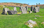 Drombeg stone circle, County Cork, Ireland, Irish Republic