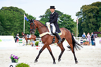 AUS-Bill Levett rides Shannondale Titan during the CIC3* ERM Dressage. Interim-12th. 2017 FRA-Haras de Jardy International Eventing Show. Versailles, France. Saturdy 15 July. Copyright Photo: Libby Law Photography