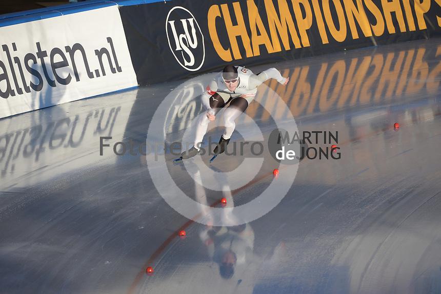 SPEED SKATING: COLLALBO: Arena Ritten, 11-01-2019, ISU European Speed Skating Championships, Joel Dufter (GER), ©photo Martin de Jong