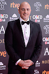 Roberto Alamo attends to the Red Carpet of the Goya Awards 2017 at Madrid Marriott Auditorium Hotel in Madrid, Spain. February 04, 2017. (ALTERPHOTOS/BorjaB.Hojas)