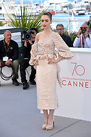 Lily Collins at the photocall for &quot;Okja&quot; at the 70th Festival de Cannes, Cannes, France. 19 May 2017<br /> Picture: Paul Smith/Featureflash/SilverHub 0208 004 5359 sales@silverhubmedia.com