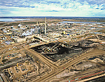 Alberta Oil Sands, Tar sands, syncrude upgrader.