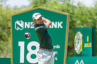 Joakim Lagergren (SWE) during the first round at the Nedbank Golf Challenge hosted by Gary Player,  Gary Player country Club, Sun City, Rustenburg, South Africa. 14/11/2019 <br /> Picture: Golffile | Tyrone Winfield<br /> <br /> <br /> All photo usage must carry mandatory copyright credit (© Golffile | Tyrone Winfield)