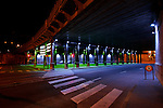 20050519 - France - Dijon<br /> REPORTAGE SUR LA VILLE DE DIJON : LE PLAN LUMIERE (ICI LE PONT DE L'ARQUEBUSE)<br /> Ref: DIJON_001-148 - © Philippe Noisette