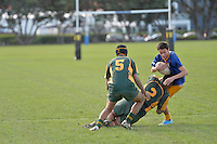 College Rugby Mana College v St Bernard's College at Petone Recreation Ground, Lower Hutt, Wellington, New Zealand on Saturday 25 May 2013.<br />