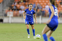 Houston, TX - Sunday Sept. 25, 2016: Lauren Barnes during a regular season National Women's Soccer League (NWSL) match between the Houston Dash and the Seattle Reign FC at BBVA Compass Stadium.