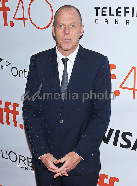 "12 September 2015 - Toronto, Ontario, Canada - Brian Helgeland. ""Legend"" Premiere during the 2015 Toronto International Film Festival held at  Roy Thomson Hall. Photo Credit: Brent Perniac/AdMedia"