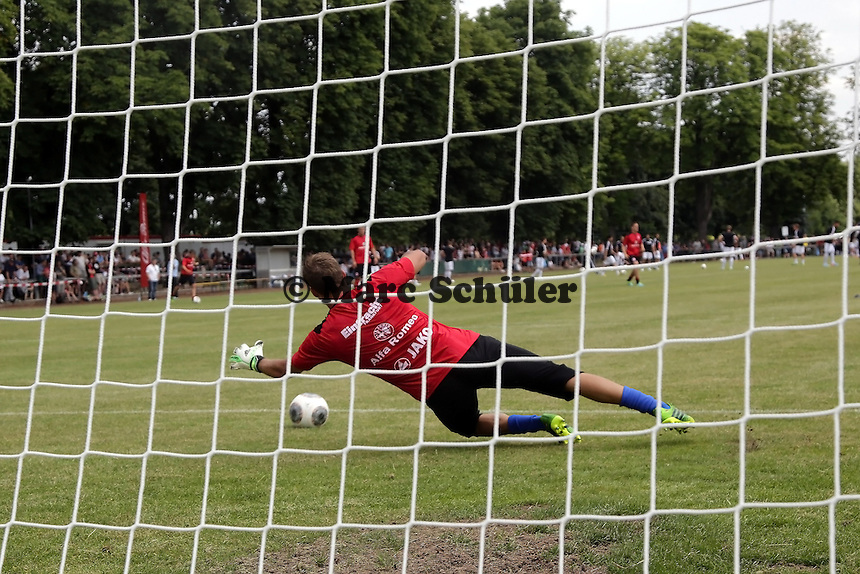 Kevin Trapp - Eintracht Frankfurt vs. VfR Aalen