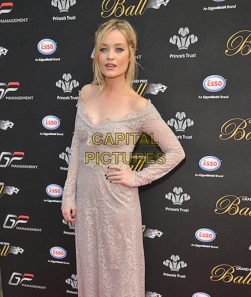 LONDON, ENGLAND - JULY 01: Laura Whitmore attends the Grand Prix Ball, The Hurlingham Club, Ranelagh Gardens, on Wednesday July 01, 2015 in London, England, UK. <br /> CAP/CAN<br /> &copy;CAN/Capital Pictures
