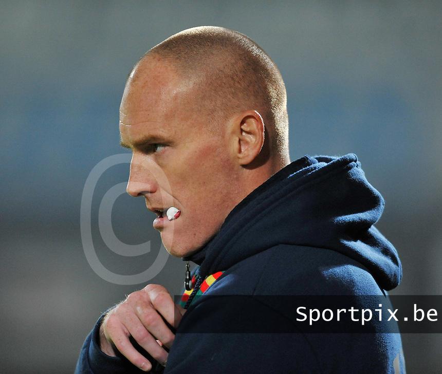 KV Oostende : coach Frederik Vanderbiest.foto VDB / BART VANDENBROUCKE