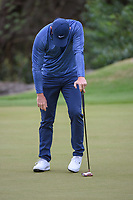 Rory McIlroy (NIR) reacts to leaving his birdie putt short on 4 during day 4 of the WGC Dell Match Play, at the Austin Country Club, Austin, Texas, USA. 3/30/2019.<br /> Picture: Golffile | Ken Murray<br /> <br /> <br /> All photo usage must carry mandatory copyright credit (© Golffile | Ken Murray)