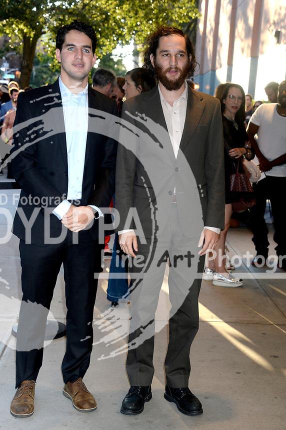 Benny Safdie und Josh Safdie bei der Premiere des Kinofilms 'Good Times' im SVA Theater. New York, 08.08.2017