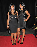 Khadijah Haqq  and Malika Haqq  attends The Launch Party for The Kardashian Kollection for Sears held at The Colony in Hollywood, California on August 17,2011                                                                               © 2011 DVS / Hollywood Press Agency