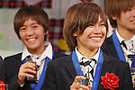 Nahomi Kawasumi (JPN), DECEMBER 27, 2011 - Football / Soccer : Nahomi Kawasumi of Japan attends Celebration party for FIFA Women's World Cup Champion at Tokyo Dome City in Tokyo, Japan. (Photo by Yusuke Nakanishi/AFLO SPORT) [1090]