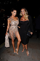 LONDON, ENGLAND - NOVEMBER 07 :  Linsey Dawn McKenzie and Lucy Zara attend The Paul Raymond Awards 2019, at the Cafe de Paris on November 07, 2019 in London, England.<br /> CAP/AH<br /> ©AH/Capital Pictures