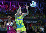29/10/17 Fast5 2017<br /> Fast 5 Netball World Series<br /> Hisense Arena Melbourne<br /> Australia v South Africa <br /> <br /> Kate Moloney<br /> <br /> <br /> <br /> <br /> Photo: Grant Treeby