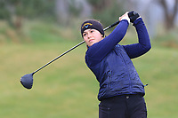 Federica Tavelli Westerlund (SWE) on the 1st tee during Round 1 of the Irish Girls U18 Open Stroke Play Championship at Roganstown Golf &amp; Country Club, Dublin, Ireland. 05/04/19 <br /> Picture:  Thos Caffrey / www.golffile.ie