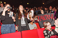 Rotterdam, 22 january 2015<br /> La la la at Rock Bottom, directed by Yamashita Nobuhiro (Japan)<br /> Audience at concert by Shibutani Subaru <br /> International Film Festival Rotterdam 2015, <br /> Photo by Felix Kalkman Copyright and ownership by photographer.<br />