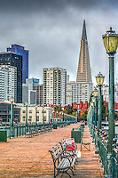 San Francisco City by the Bay, Architectural buildings in the Financial business district misy downtown,  san francisco ,California, united states of america, usa