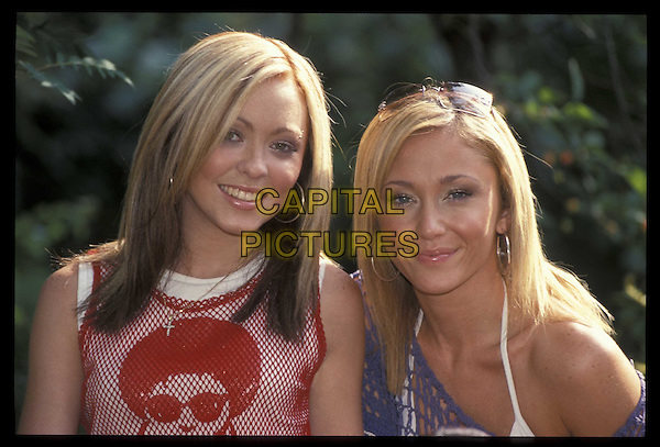 ATOMIC KITTEN.26 June 2001.Ref: 10940.portrait, headshot.*RAW SCAN- photo will be adjusted for publication*.www.capitalpictures.com.sales@capitalpictures.com.©Capital Pictures
