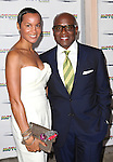 Erica Reid & L.A. Reid attending the Broadway World Premiere Launch for 'Motown: The Musical' at the Nederlander in New York. Sept. 27, 2012