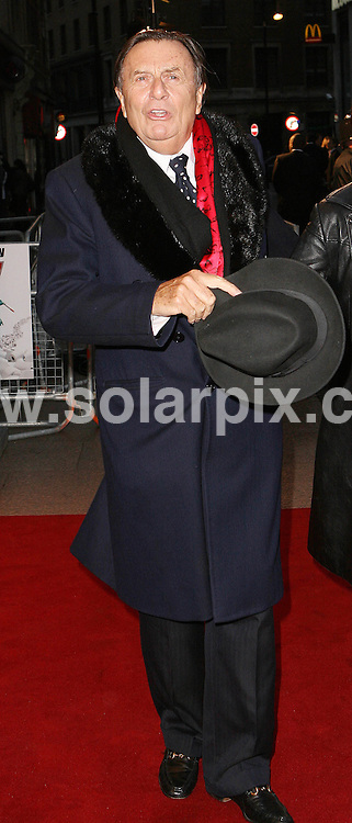 **ALL ROUND PICTURES FROM SOLARPIX.COM**.**WORLDWIDE SYNDICATION RIGHTS**.Guests attend the premier for the film 'Kenny'. London, 26th September 2007..This pic: Barry Humphries..JOB REF: 4852 SSD     DATE: 26_09_2007.**MUST CREDIT SOLARPIX.COM OR DOUBLE FEE WILL BE CHARGED* *UNDER NO CIRCUMSTANCES IS THIS IMAGE TO BE REPRODUCED FOR ANY ONLINE EDITION WITHOUT PRIOR PERMISSION*