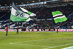 09.02.2019, HDI Arena, Hannover, GER, 1.FBL, Hannover 96 vs 1. FC Nuernberg<br /> <br /> DFL REGULATIONS PROHIBIT ANY USE OF PHOTOGRAPHS AS IMAGE SEQUENCES AND/OR QUASI-VIDEO.<br /> <br /> im Bild / picture shows<br /> Mannschaft von Hannover 96 bejubelt Sieg auf Spielfeld nach Spielende, <br /> <br /> Foto © nordphoto / Ewert