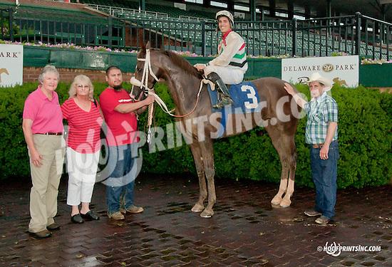 Golden Odessy winning at Delaware Park on 6/27/13