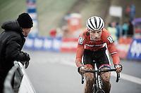 Martijn Budding (NLD)<br /> <br /> Grand Prix Adrie van der Poel, Hoogerheide 2016<br /> UCI CX World Cup