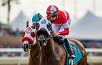 AUG 17: Acclimate with Florent Geroux wins the Del Mar Handicap at The Del Mar Thoroughbred Club in Del Mar, California on August 17, 2019. Evers/Eclipse Sportswire/CSM