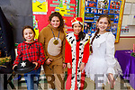 Victoria Manachowska, Doriana Salihu, Sinead Libut Libut and Yiilia Dmitlmiva enjoying the Presentation NS play on Tuesday.