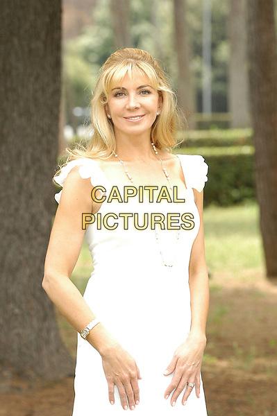 "NATASHA RICHARDSON.Photocall for ""Asylum"", Rome, Italy..June 6th, 2007.half length white dress .CAP/CAV.©Luca Cavallari/Capital Pictures"