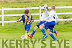 Stephen Gannon Killorglin cuts through the Murroe defence during the u12 FAI cup in Killorglin on Saturday