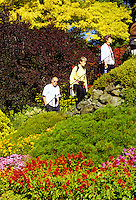 Buchart Gardens, Victoria B.C. Canada