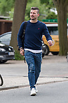 11.05.2018, Weserstadion, Bremen, GER, 1.FBL, Training SV Werder Bremen<br /> <br /> im Bild<br /> Jerome Gondorf (Werder Bremen #08) mit Rucksack, <br /> <br /> Foto &copy; nordphoto / Ewert