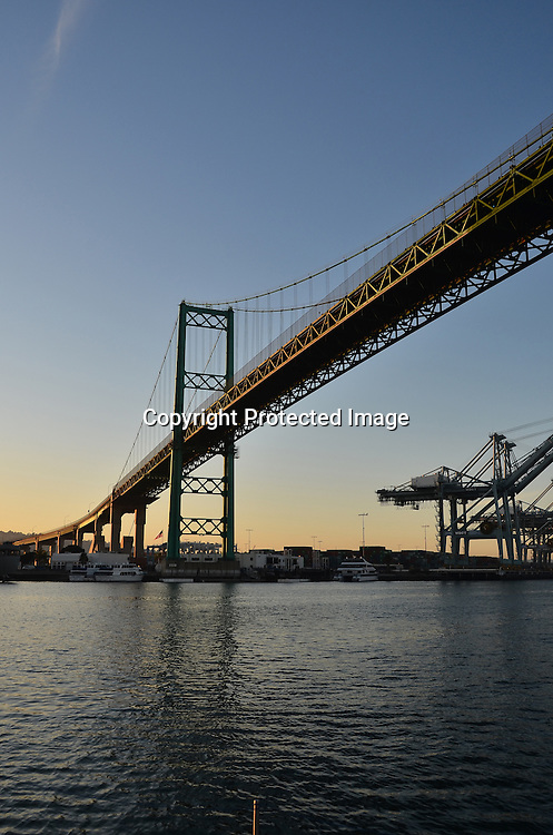 Stock photo of a bridge